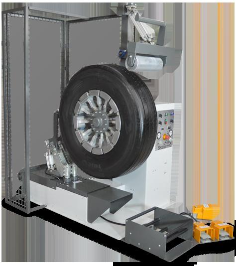 Máquina para Roletagem de Pneus