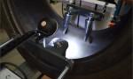 Máquina para exame de pneus